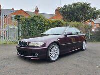 BMW E46 325I COUPE AUTOMATIC INDIVIDUAL 33.000 MILES MORA METALLIC