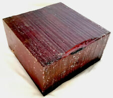 Purpleheart Hardwood Lathe Turning 6x6x3 Woodworking Tool Handles Gun Grips Wood