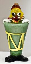 Vintage - Clown - Hand Made VENETIAN GLASS. Made in Italy Pre-Owned NICE!