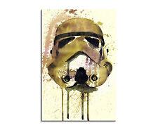 90x60cm Paul Sinus Splash tipo dipinto arte immagine Stormtrooper _ HELMET