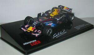 Red Bull Renault RB4 - Barcelona Test 2008 - Sebastien Loeb - Altaya/IXO