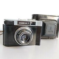 Smena-7 Camera Lomo Vintage Soviet USSR Compact