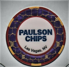 casino chip  Oversized Paulson sample new condition