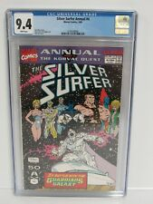 Silver Surfer Annual #4 (1991) Ron Lim Cover Guardians of Galaxy CGC 9.4 A183