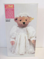 Stieff - Mohair Bride Bear #0155/36 * Brand New in Box - West Germany