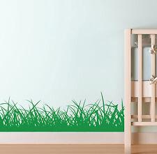 GRASS BORDER WALL STICKER KIDS NURSERY ART DECALS K2