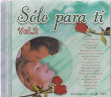 CD - Various Artist NEW Solo Para Ti Vol.2 - FAST SHIPPING !