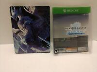 Monster Hunter World: Iceborne Master Edition Deluxe Steelbook only