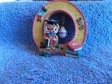 """Mary Engelbreit Collectible Alphabet Letter """"O"""" Free Standing 1999"""
