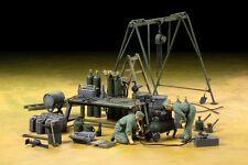 Tamiya 37023 1/35 Military Model German Field Maintenance Team w/Equipment Set