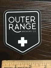 OUTER RANGE BREWING BREW BEER STICKER CO Frisco Colorado Brewery Microbrewery