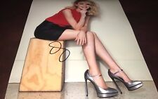 Emma Stone Sexy ActressHand Signed 11x14 Autographed Photo W/COA Proof Look ES