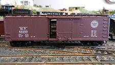 Train Miniature Ho Vintage Mo Pac Ds wood' Boxcar, K-D's, Metal Wheels Ex, Ob