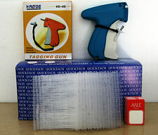 "Tagging Gun + 5000 3"" Clear Barbs + 100 Sale Price Tag"