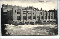 TROLLHÄTTAN ~1910 Kraftstationen Postcard Sverige Sweden, alte Postkarte