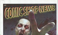 COMIC SHOP NEWS CSN 1402 V WARS RARE PROMO GIVEAWAY SPIDERMAN MINI STRIP