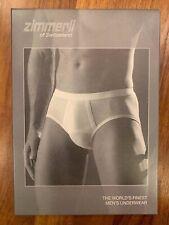 NIP New ZIMMERLI of Switzerland Men's Underwear 252-8406 Royal Classic M