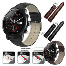 Crocodile Leather Watch Band Strap Wristband For Huami Amazfit Stratos 2 2S