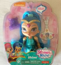 "NIB Fisher-Price Shimmer and Shine - Shine - Blue 6"" Doll Toy"