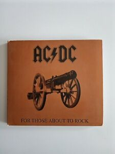 ACDC  For those about to Rock  CD