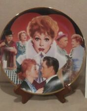 I LOVE LUCY PLATE * 1992 HAMILTON COLLECTORS PLATE* LIMITED ED. #3978 D * C.O.A.