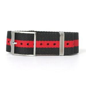 19-22mm Sports Nylon Watchband Watch Strap Long Wristband for Tudor Black Bay