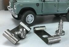 Land Rover Serie 1 2 2a 2b 3 Gehäuse Erd- blei-clip Klemmen & Schrauben 236366 2