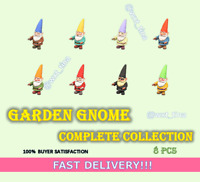 🧝🏼 Garden Gnome 🧝🏼 Complete Collection 8 pcs FASTEST!!!