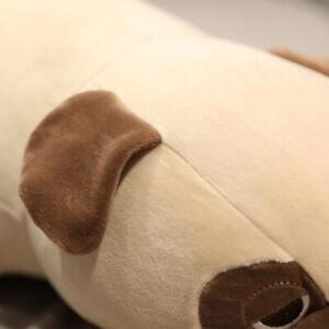 Living Room Plush Toy 55cm Pug Dog Sleep Cushion Rest Soft Stuffed Children Kids