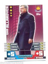 West Ham United 2014-2015 Season Soccer Trading Cards