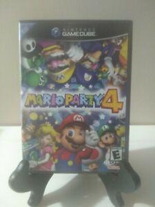 Mario Party 4 (Nintendo GameCube, 2002) With Manual