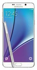 SPRINT - SAMSUNG GALAXY NOTE 5 SM-N920P WHITE *Nice* SMARTPHONE CLEAN ESN