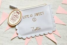 Zoella Beauty Life Is Sweet Makeup Purse Case Bag & Tagged