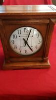 Howard Miller Mantle Clock Wood Cabinet U14