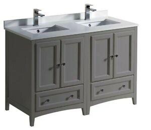 Fresca Double-Sink Bathroom Countertop