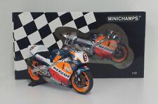 MINICHAMPS 1/12 MODELLINO MOTO DIE CAST HONDA NSR ALEX CRIVILLE BARCELLONA 1995