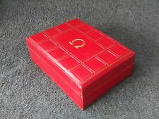 VINTAGE OMEGA WATCH RED BOX AUTHENTIC FROM 1950-60'S