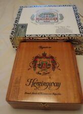 ARTURO FUENTE Wooden Cigar Boxes Empty Lot of 3