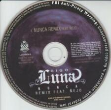 Rigo Luna Nunca Remix PROMO MUSIC AUDIO CD Nejo Hip Hop Latin LATR 40034 Machete