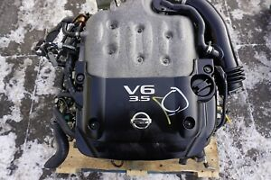 JDM 2003-2006 Nissan 350Z Infiniti G35 Engine VQ35DE Motor Auto Transmission 3.5