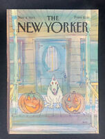 COVER ONLY ~ The New Yorker Magazine, November 4, 1985 ~ George Booth