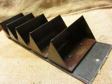 Vintage Conveyor Belt with Metal Buckets > Antique Old Decor Basket Box 9946