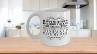 Best Bonus Mom Ever Mug, Funny Step Mom Coffee Cup Gift From Step Son Daughter,