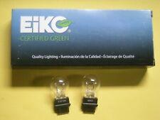 EIKO 3157 Certified Green Clear Tail Light Bulbs   QTY OF 2 BULBS       (sb9)