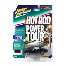 Johnny Lightning JLMC017-A2 Plymouth Satellite Nero - Muscle Auto 1:64 Nuovo !°