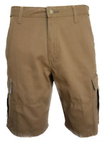 "MEN`S NEW WRANGLER CARGO COMBAT SHORTS 36"" WAIST XL BROWN (STYLE 2) AUTHENTIC"