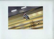Esteve Rabat Aprilia 125 Moto GP Quatar 2010 Signed Photograph