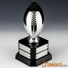 """Fantasy Football Trophy Perpetual-8 Years-Silver-8.5""""-Free Engraving- Ship 1 Day"""