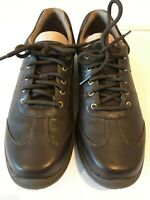 Rockport World Tour T-toe Oxford M75854 Dark Brown Leather Women's Shoes Size US