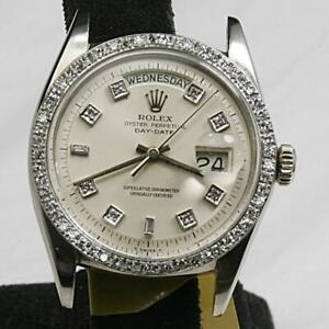RARE&COLLECTABLE ROLEX Oyster Perpetual DAY-DATE 1804 PRESIDENT NON QUICK SET